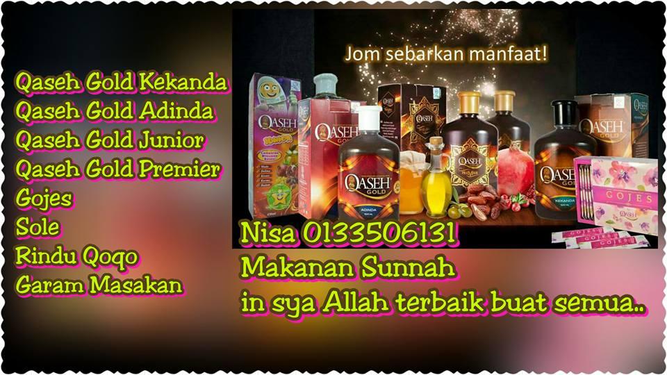 Qaseh Gold..Makanan Sunnah..