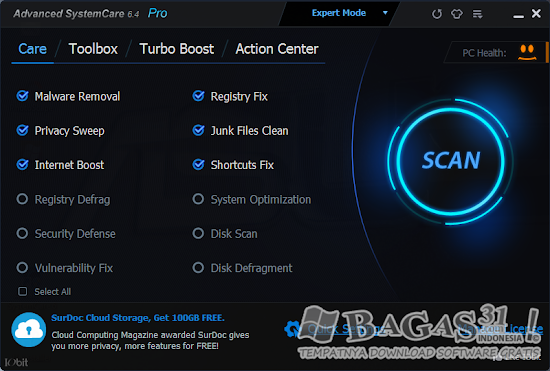 Advanced SystemCare Pro 6.4.0.2 Full Serial 2