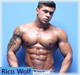 Rico Wolf - MuscleHunks.Com Muscle Puppy in Action