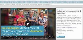 My project #GenteDeAyamonte on Gruppo Espresso