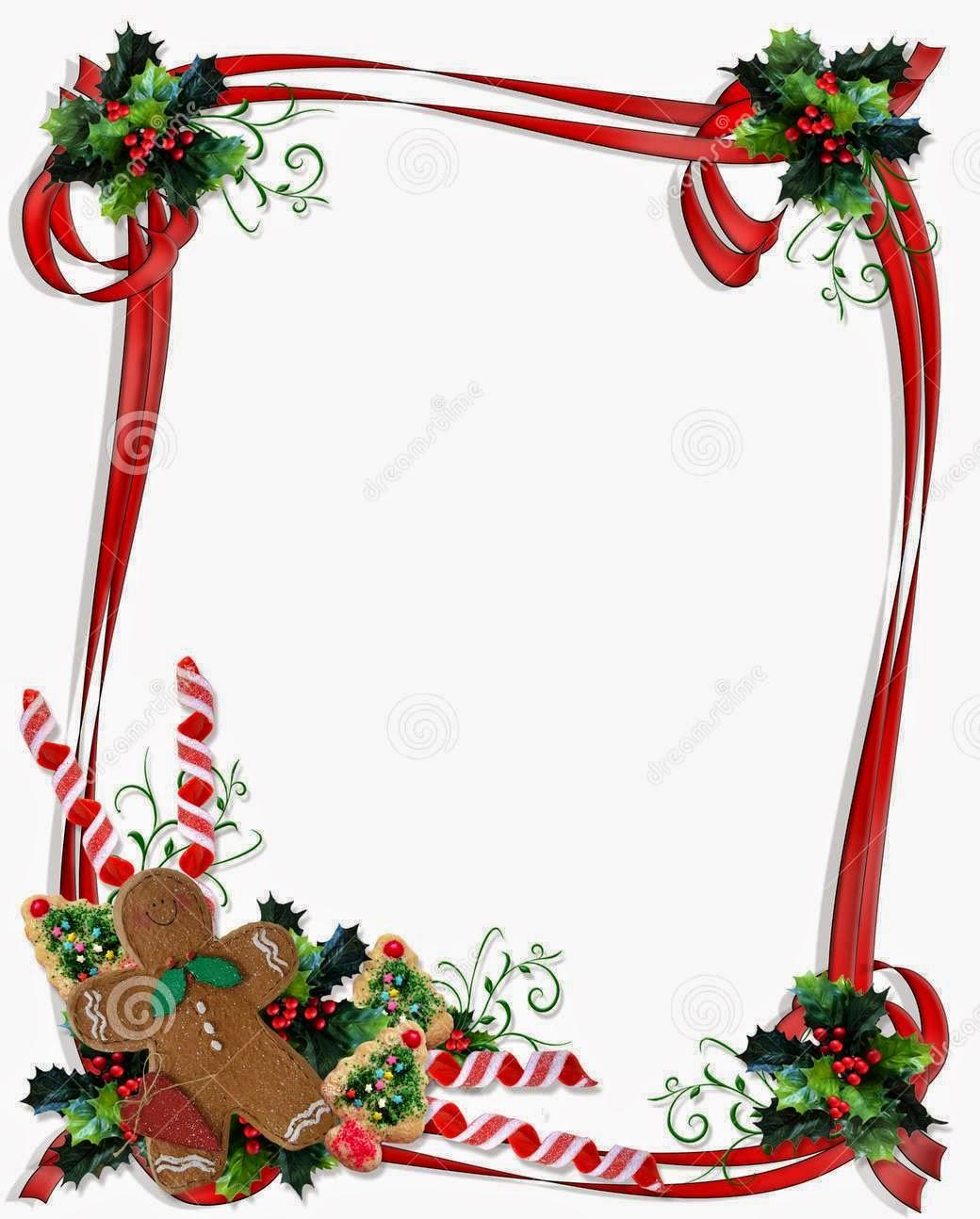 free christmas clipart borders frames - photo #42