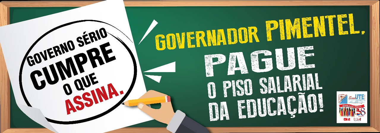 GOVERNADOR PAGUE O PISO.