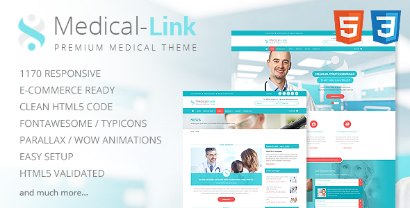 Medical-Link - Responsive Medical Template