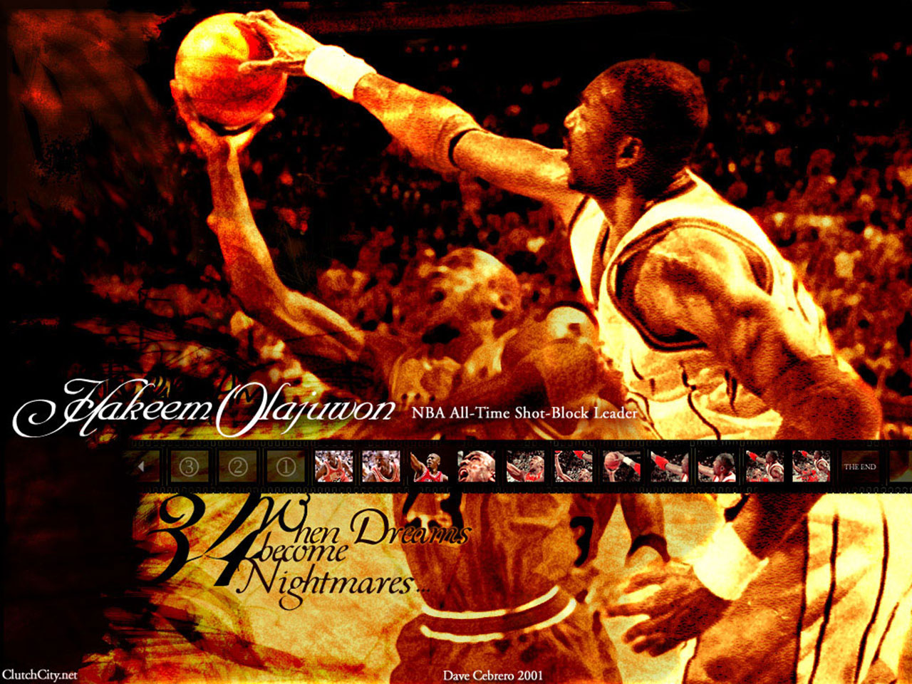 Hakeem Olajuwon | Basketball Wallpapers For Android: Hakeem Olajuwon