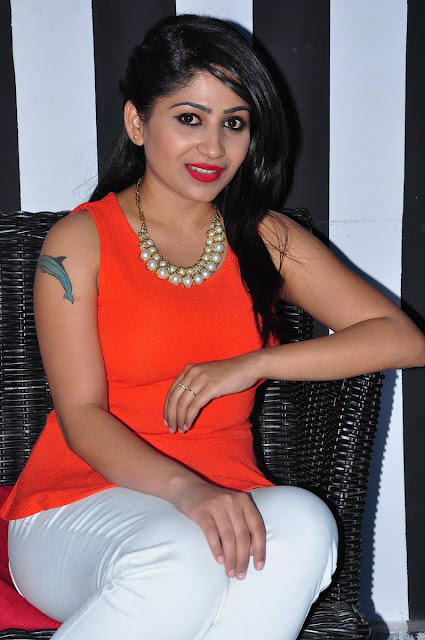Madhulagna Das Latest Photos At Haveli Coffee Shop Opening