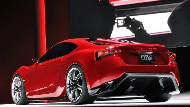 2016 Scion FRS Exterior Design