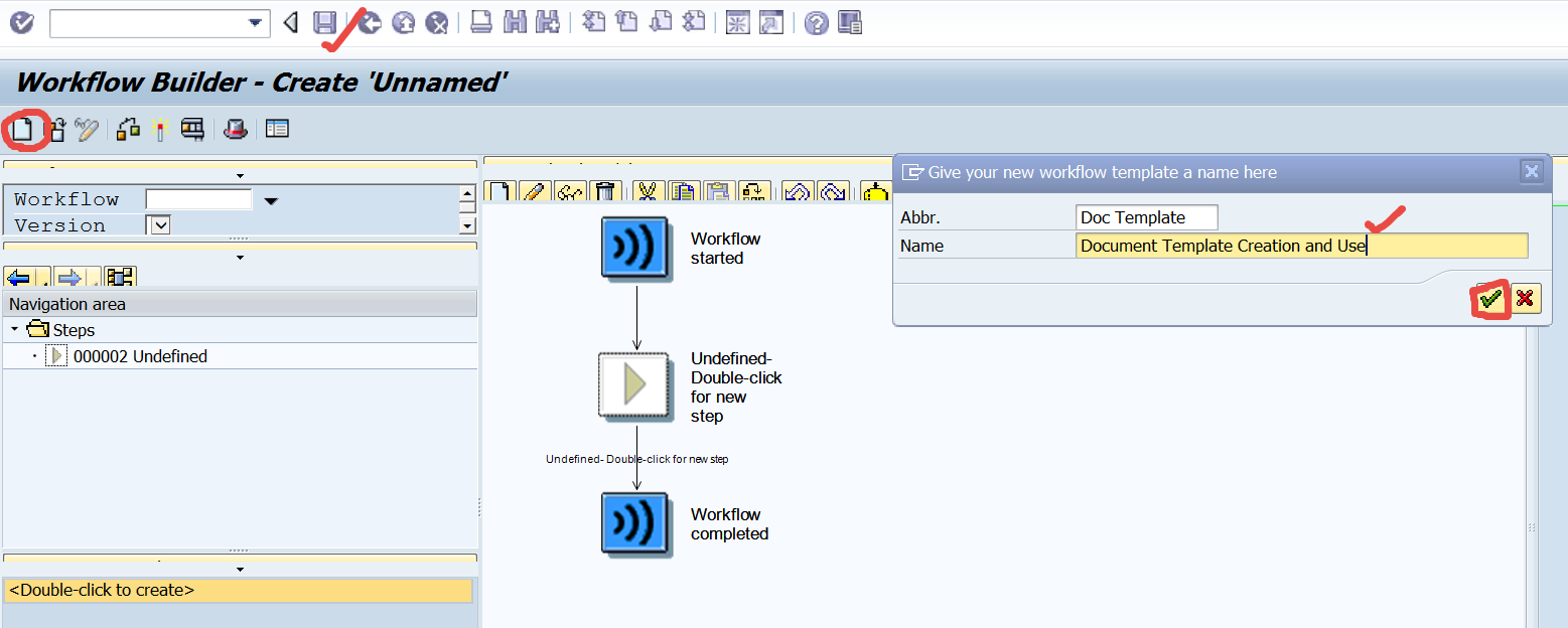 TECHSAP Workflow Demo Document Template Creation And Use In - Workflow document template