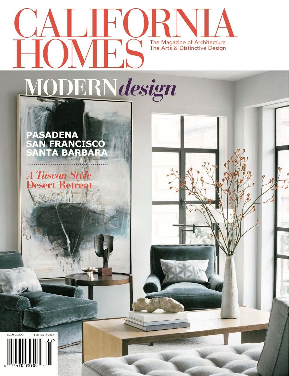 California Home Magazine. home decorating ideas from an airy ...