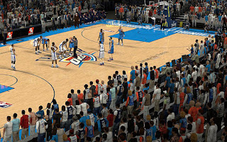 NBA 2K13 OKC Thunder Court Crowd Fix Patch