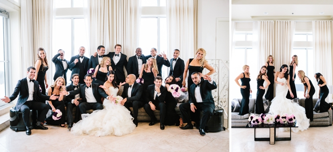 super fun bridal party photos