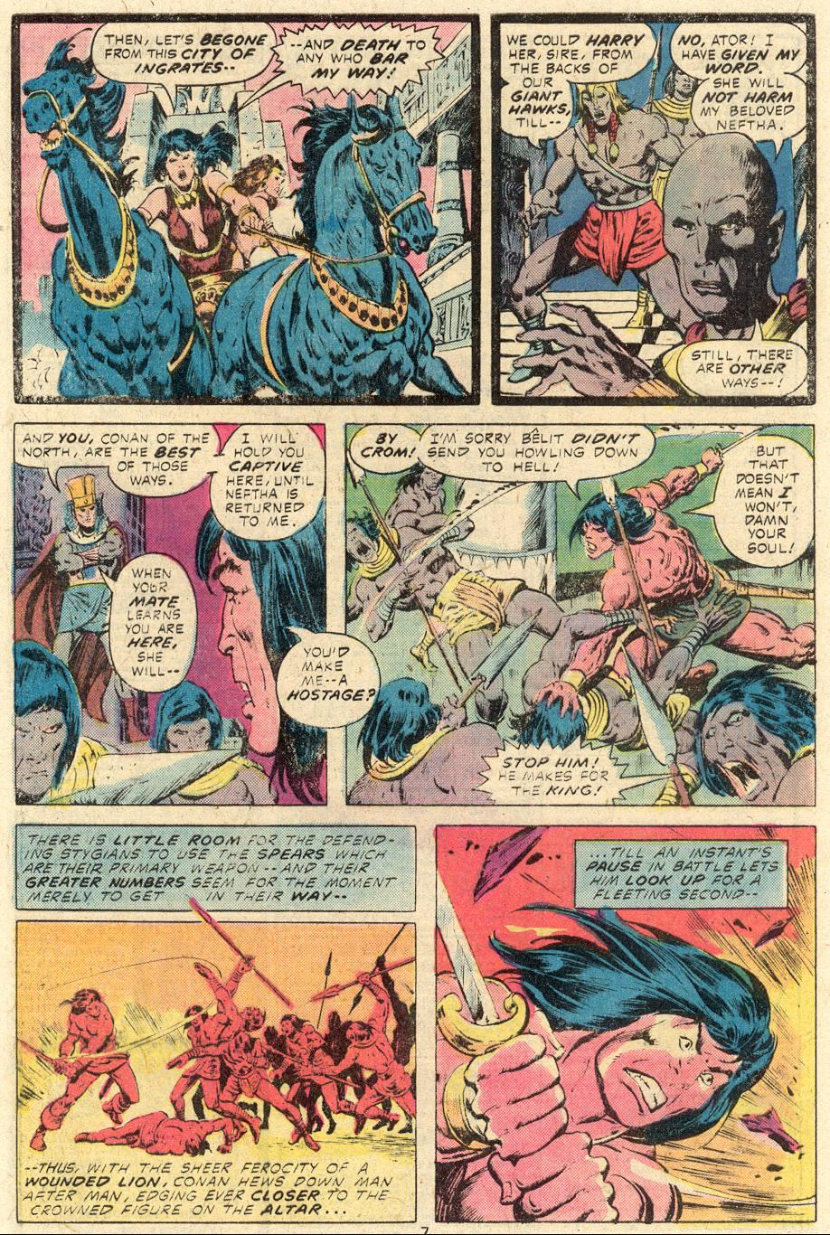 Conan the Barbarian (1970) Issue #84 #96 - English 6