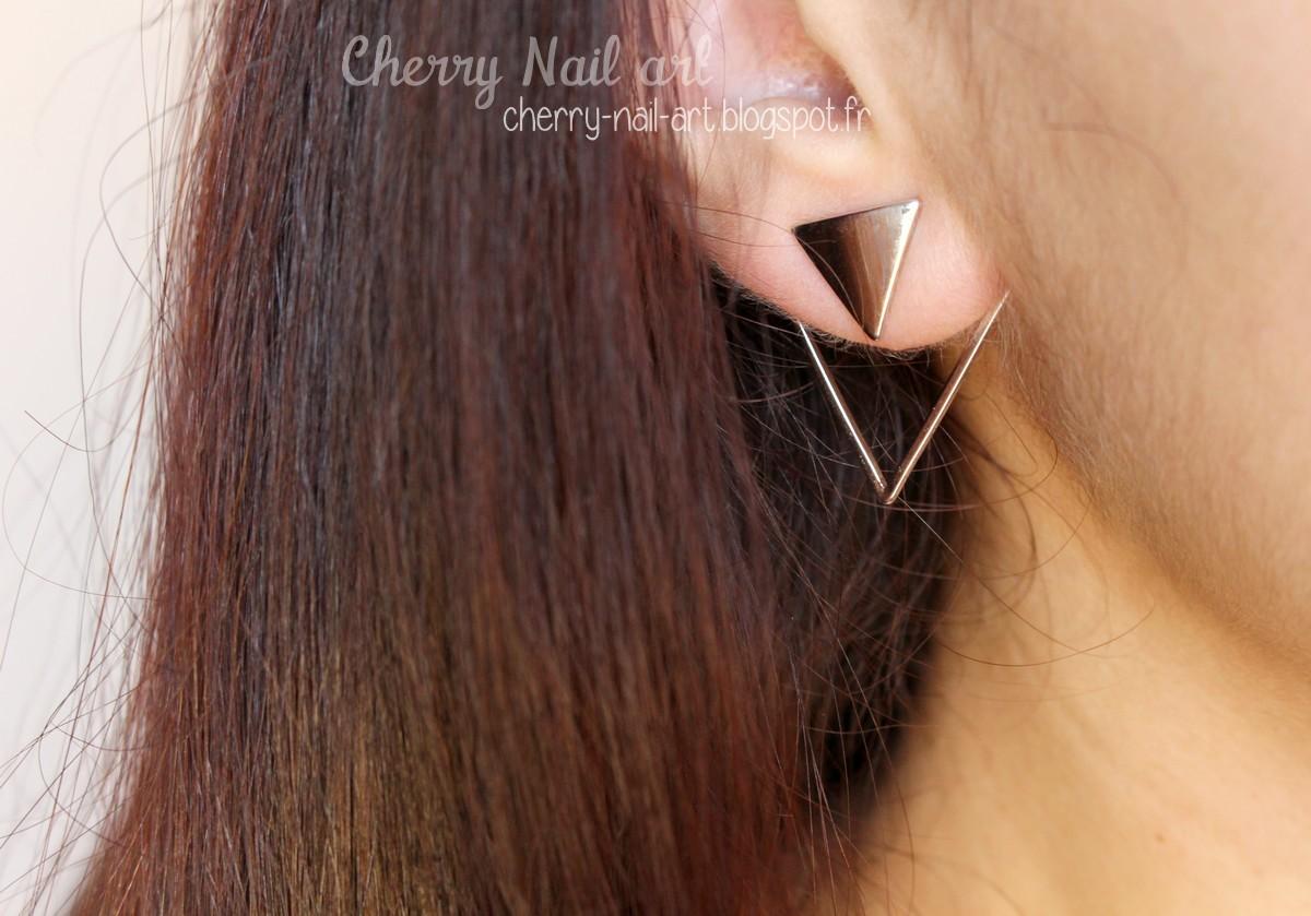 boucles d'oreilles triangle luna pyxis