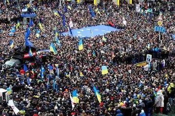 Евромайдан, Украина, 2013 год.