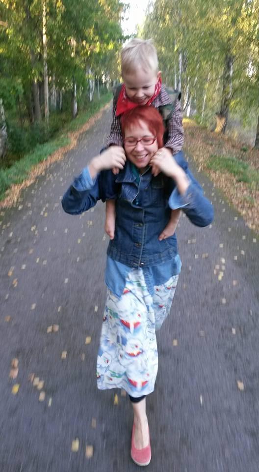 Jenni Joru, vastaava kirjastonhoitaja, Kuljun kirjasto
