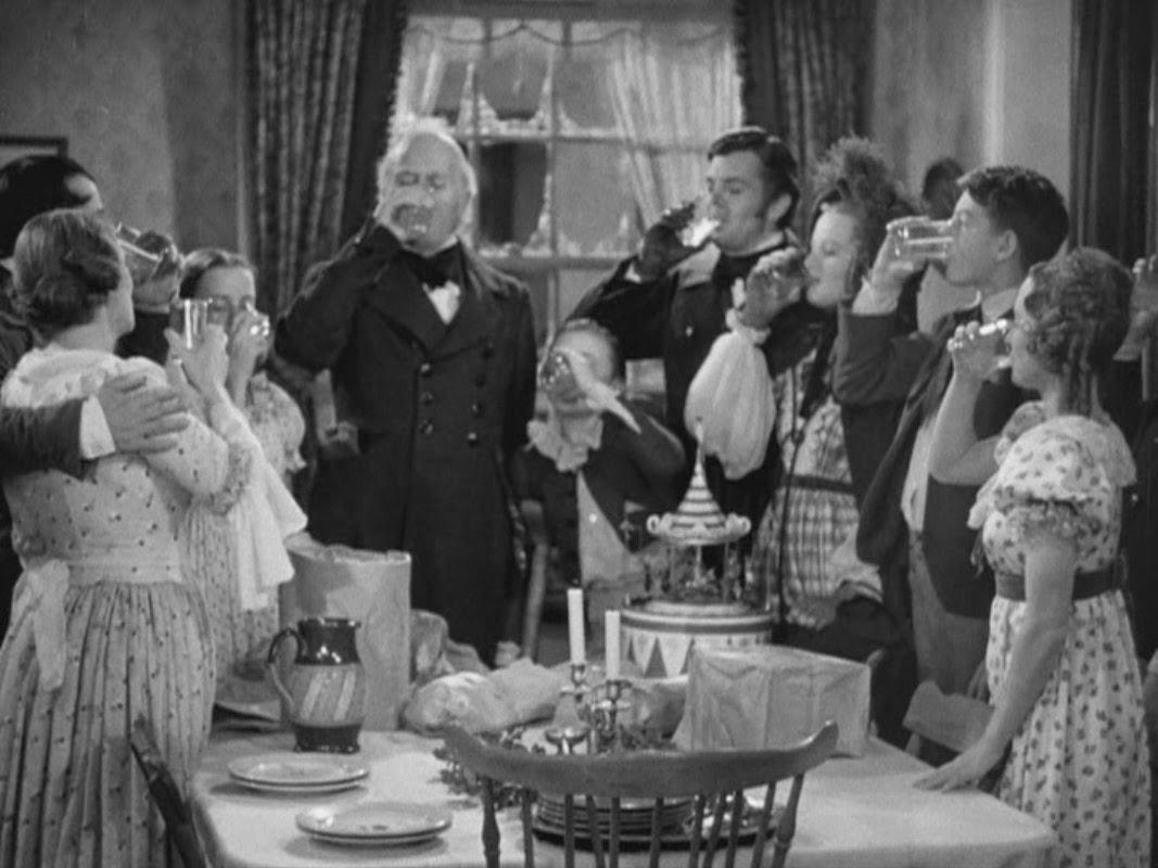 Filmfood: A Christmas Carol 'The Goose' 1938