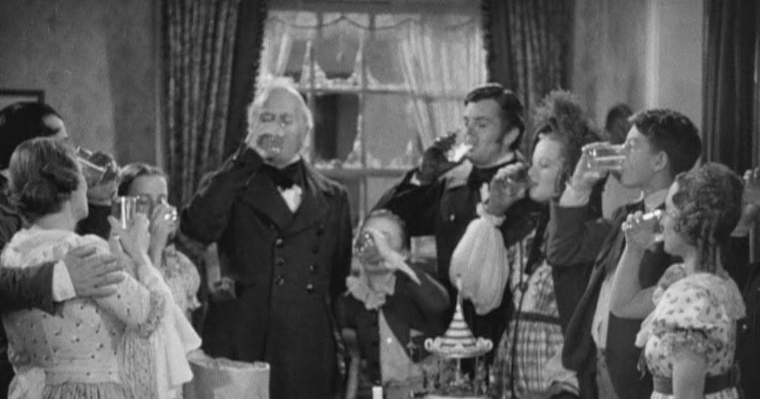 filmfood a christmas carol the goose 1938 - A Christmas Carol Movie 1938