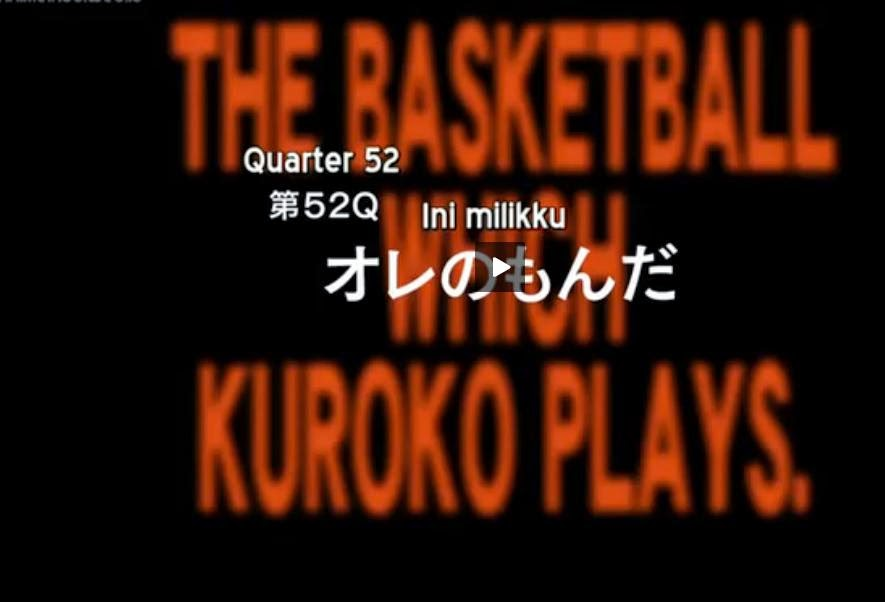 Review Kuroko No Basket season 3 Episode 2