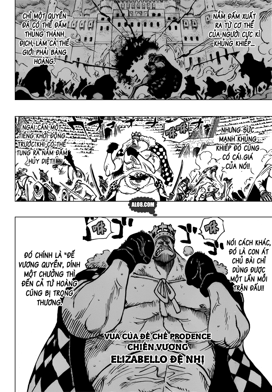 One Piece Chapter 707: Bảng B 004