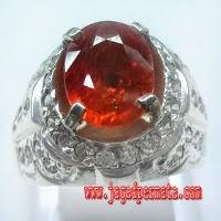 Batu Permata Orange Safir