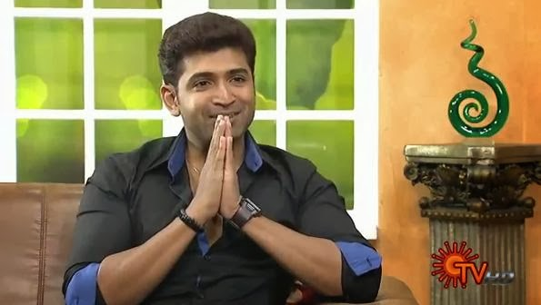 Virundhinar Pakkam – Sun TV Show 13-01-2014 Actor Arun Vijay