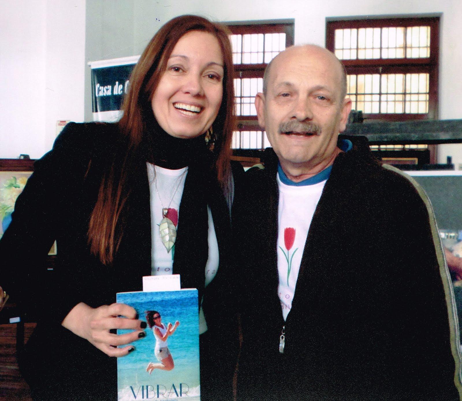 Manoel Ianzer com Eleonora Alcalde Machado
