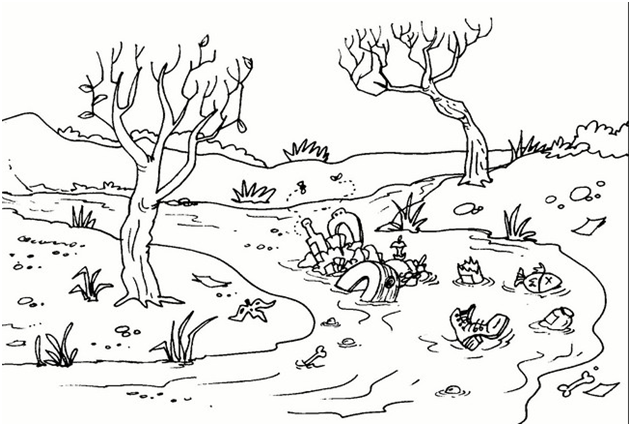 Dibujos para colorear seres vivos y no vivos - Imagui