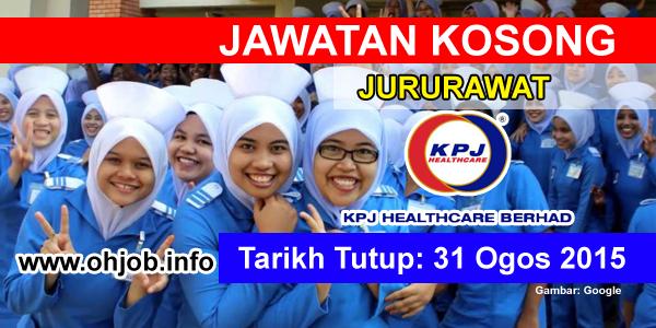 Jawatan Kerja Kosong KPJ Healthcare Berhad logo www.ohjob.info ogos 2015