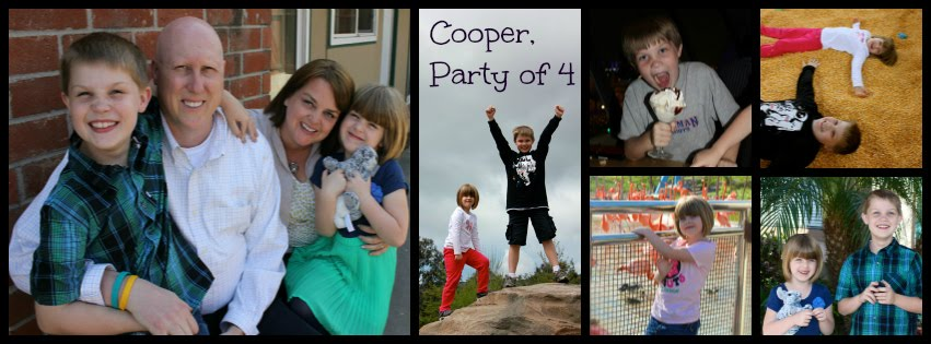 Cooper, Party of 4