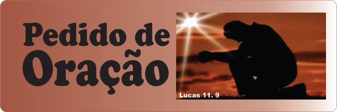 Envie-nos seu pedido de oração para nosso e-mail. missaovidac@gmail.com