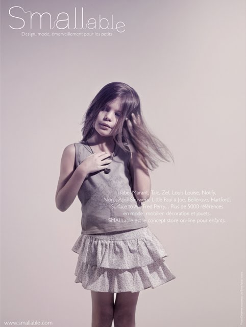 Nouvelle Campagne SMALLable . Spring/Summer 2011