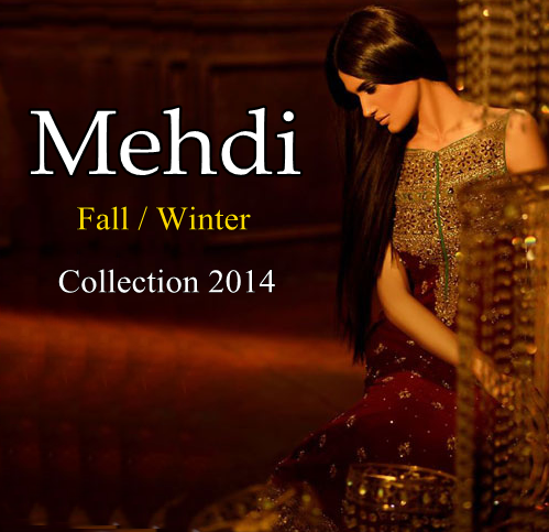 Mehdi Bridal Winter Dresses 2014-15
