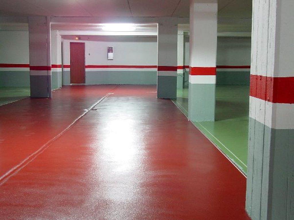 Pintura de parking y garajes pintor tarragona 644 800 for Pintura suelo parking