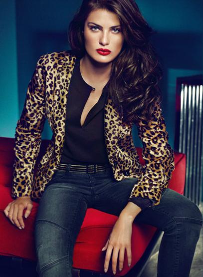 abrigos estampados leopardo