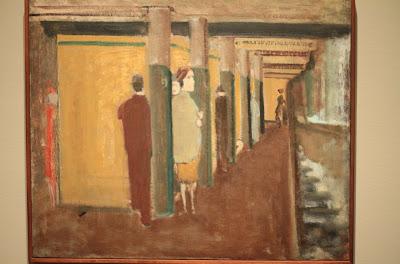 Rothko, Subway c. - 1937