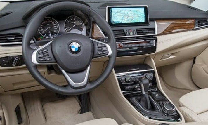 2015 BMW 2 Series Active Tourer interior