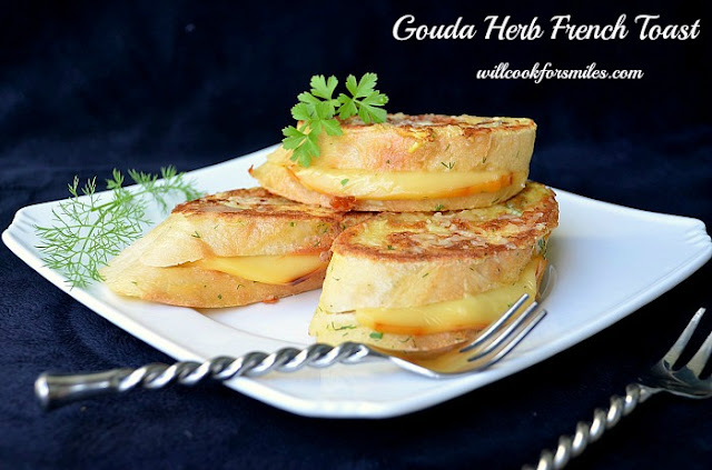gouda herb french toast