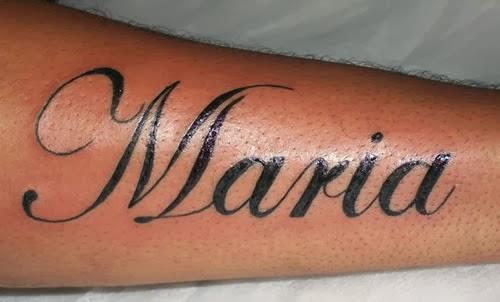 Tatuagem Maria