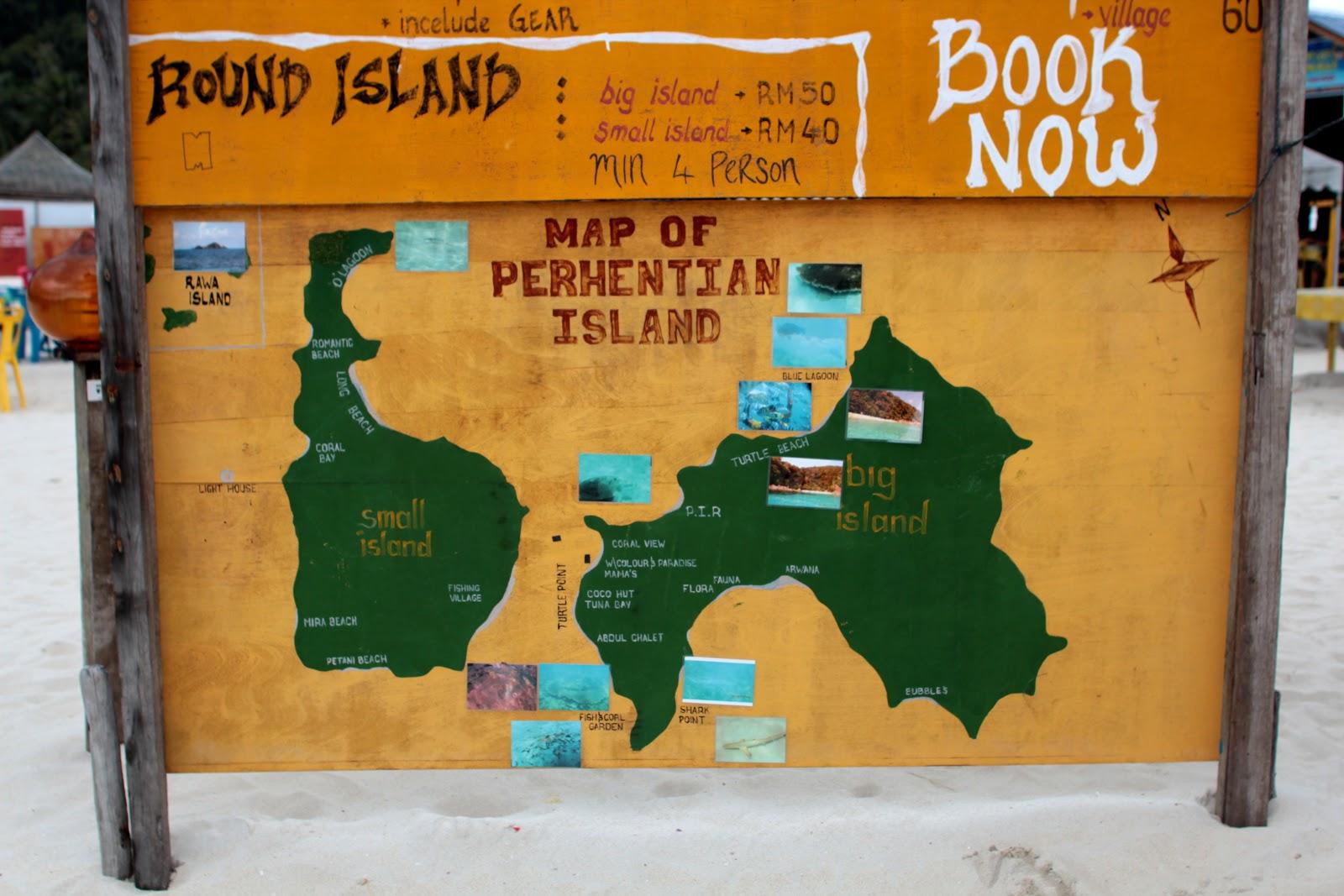 Long Beach, Pulau Perhentian Kecil