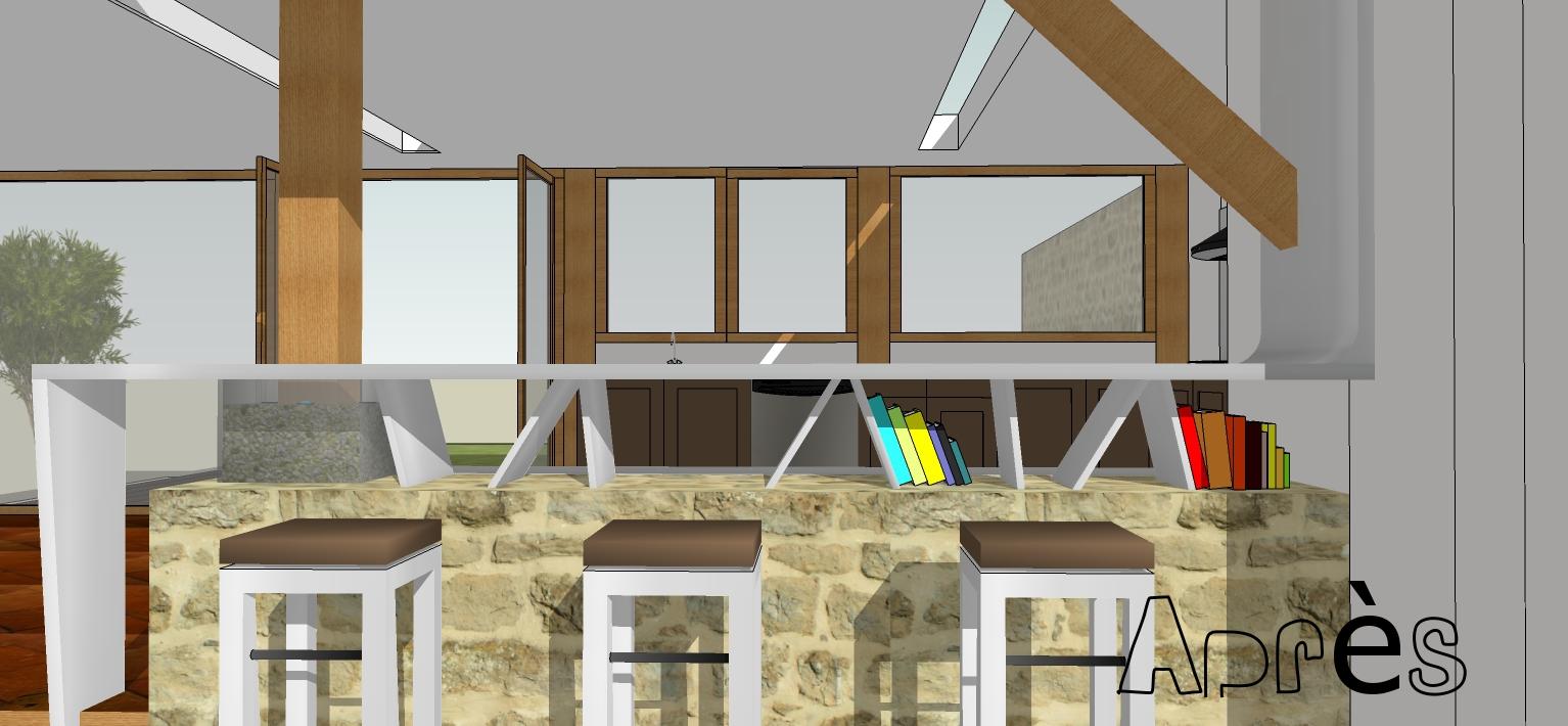 nuances architecture design d 39 int rieur projets en cours de r alisation. Black Bedroom Furniture Sets. Home Design Ideas