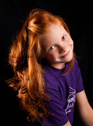 We took fun pictures of just my 11 year old red head.