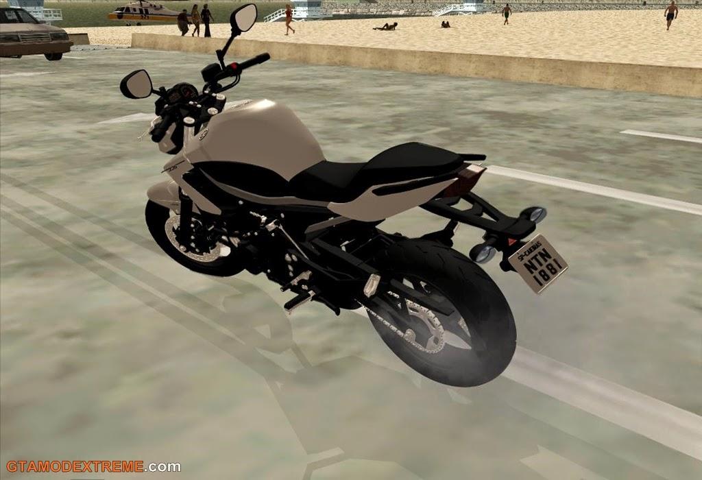 Baixar moto Yamaha XJ6 2013 Original Para GTA San Andreas