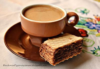 119. Domowe wafle bardzo czekoladowe