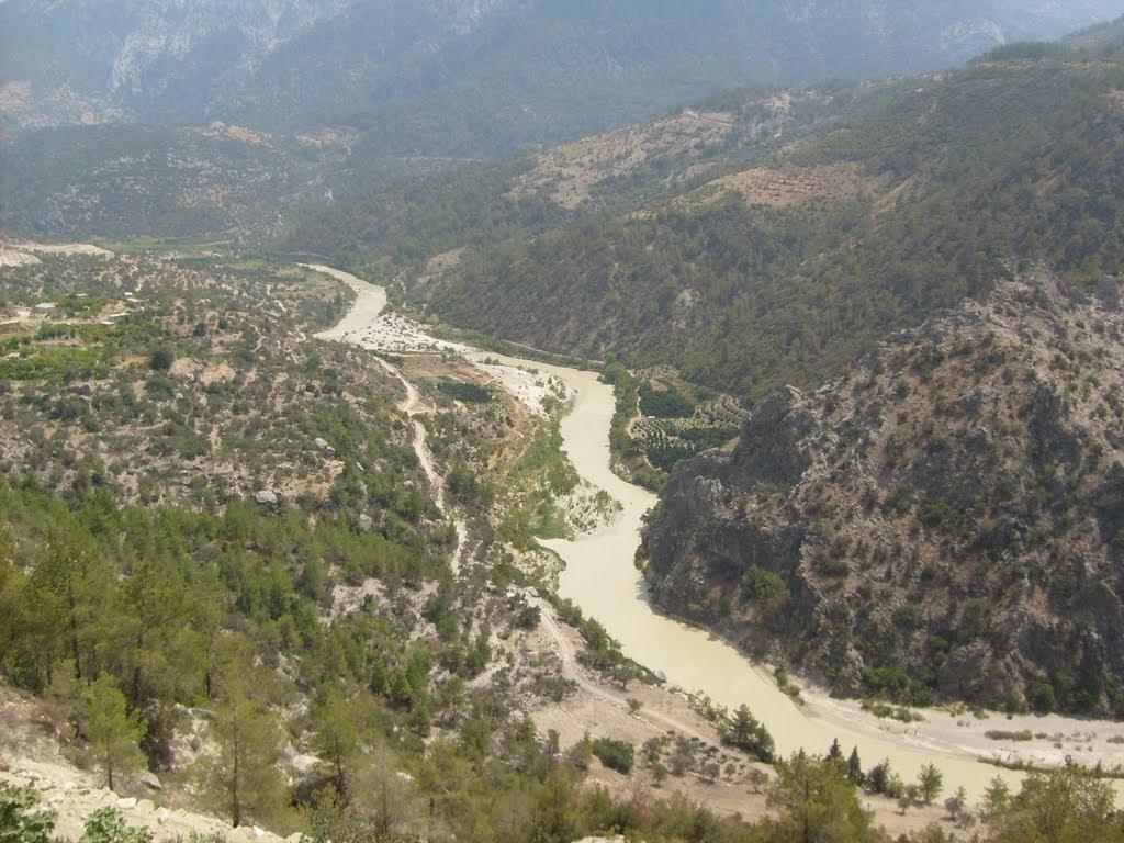 Panoramio - Photo of Gu00f6ksu Nehri - Mersin Mut.