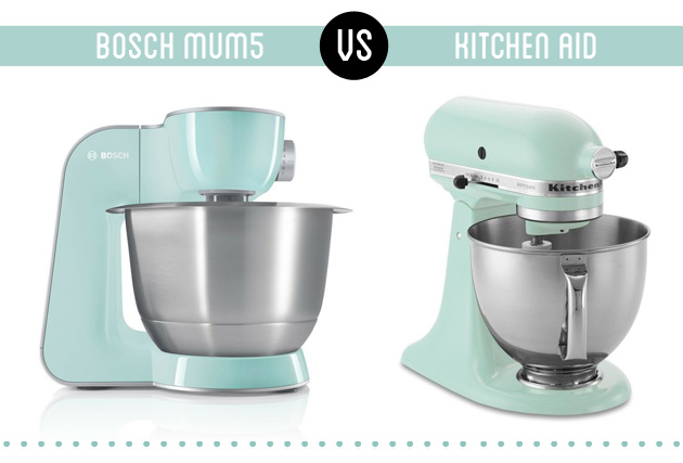 kitchen aid vs Bosch MUM5