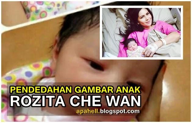 Koleksi Gambar Anak Rozita Che Wan dan Zain Saidin (9 Gambar)