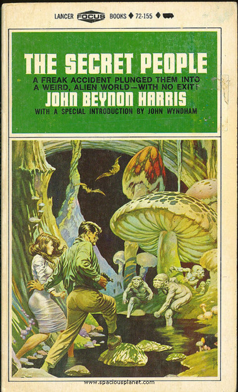 awesome classic sci-fi book cover John Beynon Harris The Secret People