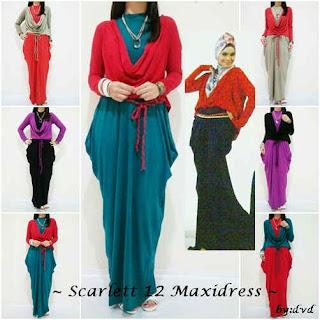 Scarlett Maxidress fit to L