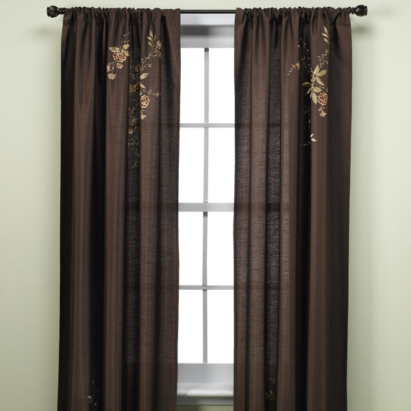 Modern Furniture Contemporary Window Treatments Panels 2011