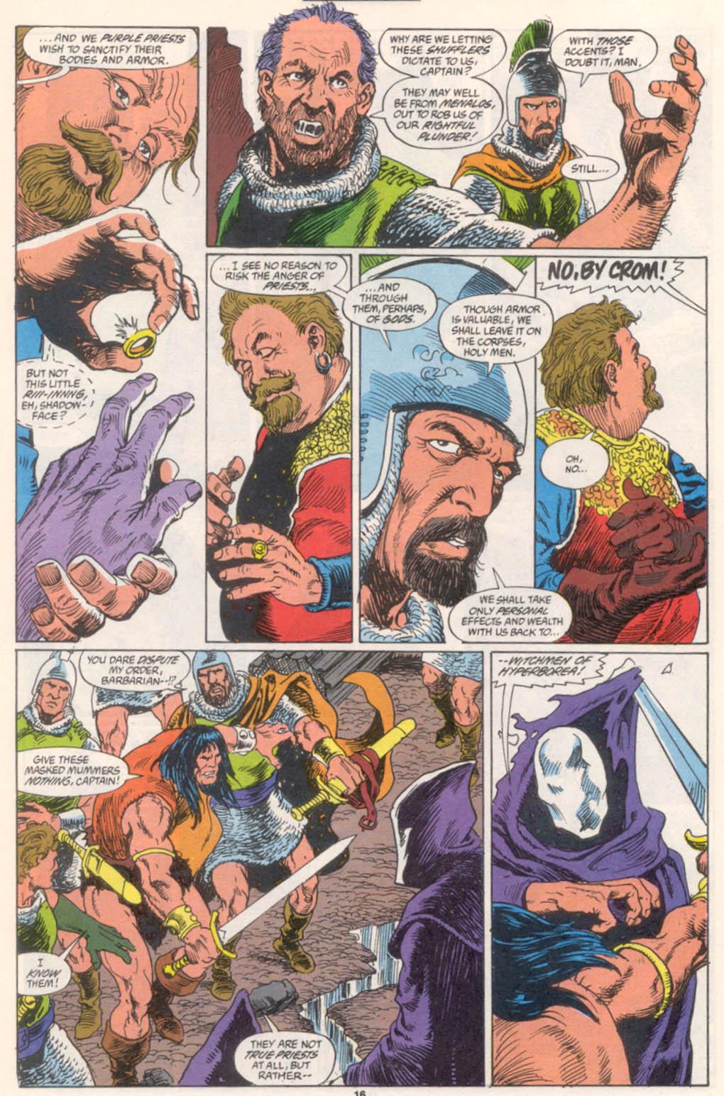 Conan the Barbarian (1970) Issue #255 #267 - English 13