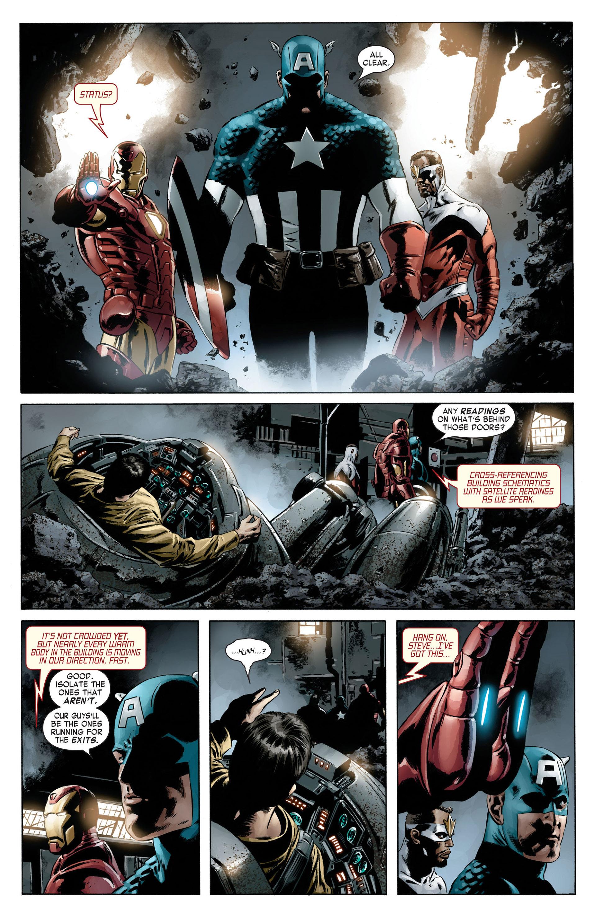 Captain America (2005) Issue #13 #13 - English 9